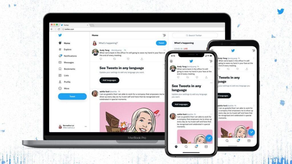 Twitter обновила интерфейс